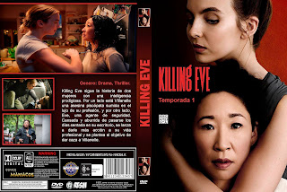 CARATULA - [SERIE DE TV] KILLING EVE - 2018