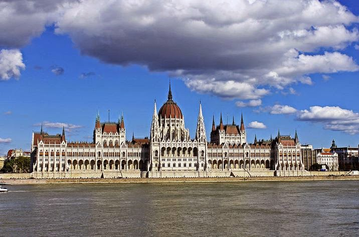 Buy copy of Hungarian Parliament Building as canvas or acrylic print