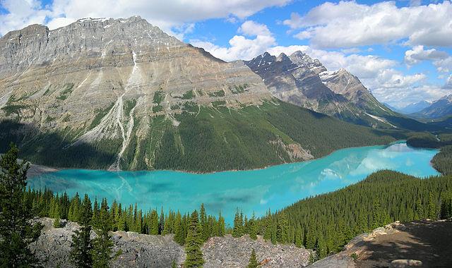 Peyto Lake of Alberta, Canada