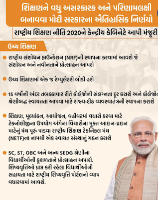 New Education Policy Approved by Central Government