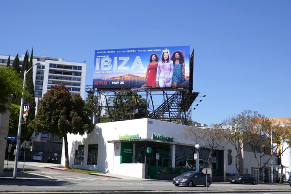 Ibiza Netflix film billboard