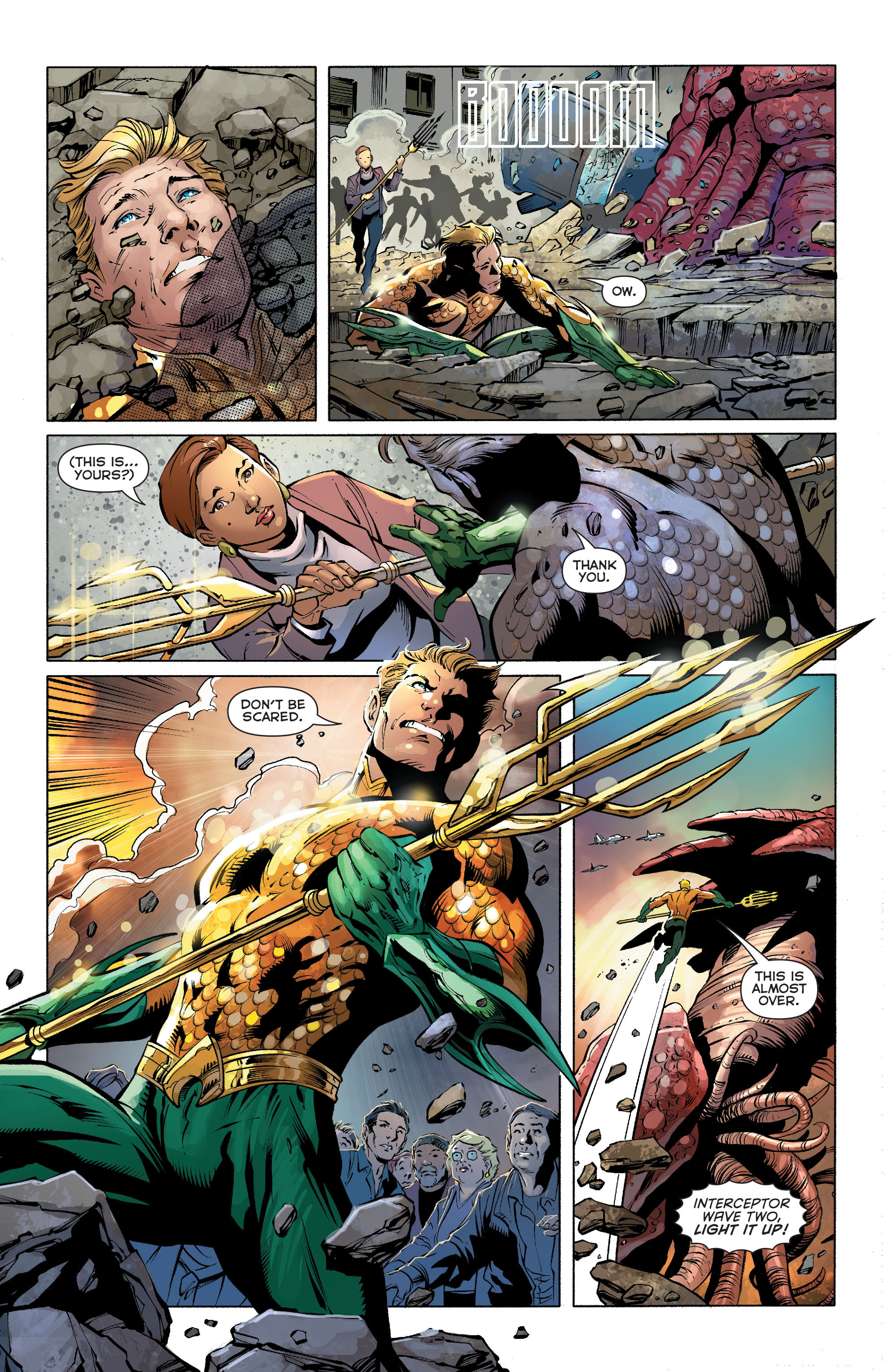 Read online Aquaman (2011) comic -  Issue #27 - 12