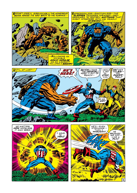 Read online Captain America (1968) comic -  Issue #102 - 17