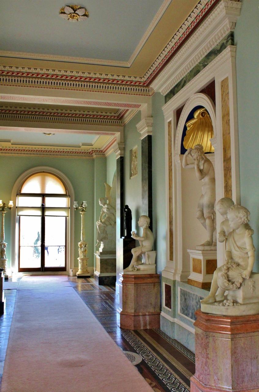 Palace corridors