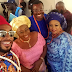 Veteran actress, Patience Ozokwor all glammed up on set of The Wedding Party 2