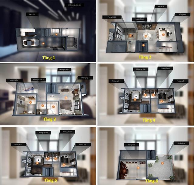 Thiết kế liền kề dự án HD Mon City Mỹ Đình