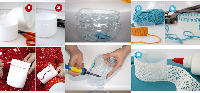 6 best ideas to create best things out of waste plastic for Images of best out of waste things