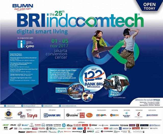 Jadwal Indocomtech 2017 Pameran Teknologi dan Gadget