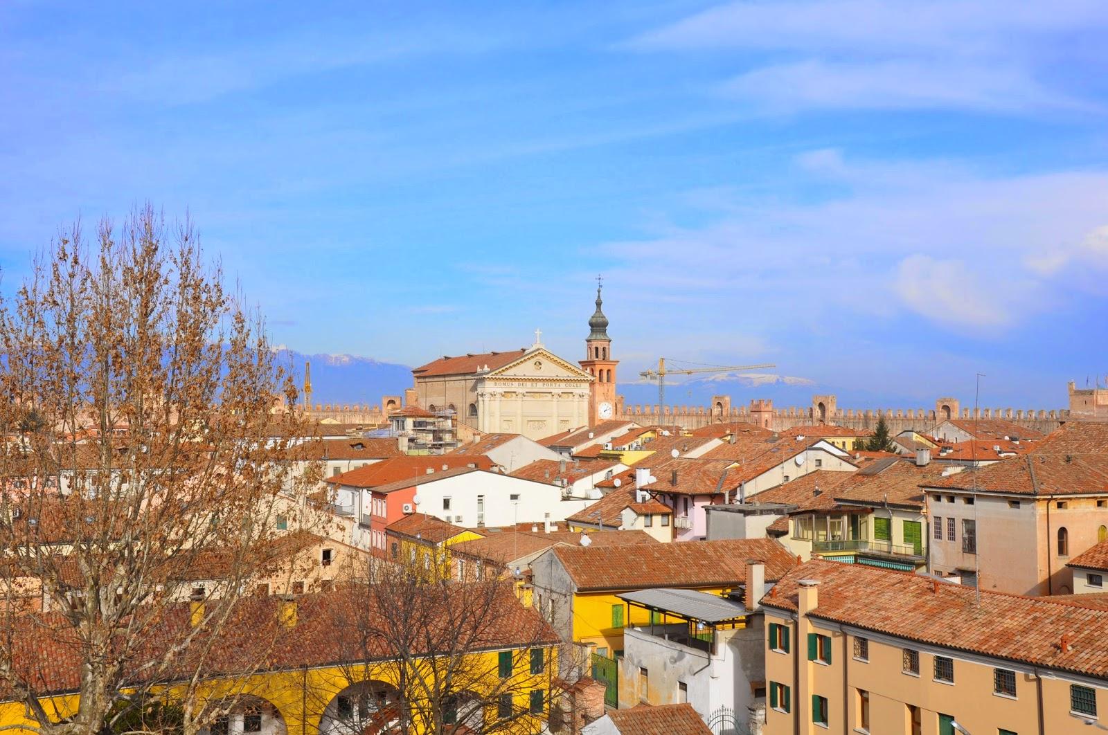town Cittadella medieval wall