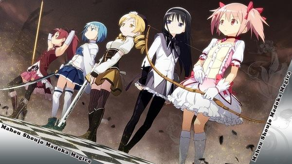 Puella Magi Madoka Magica (Mahou Shoujo Madoka★Magica) - Best Time Travel Anime List