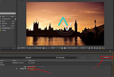 Cara Render Adobe After Effect Yang Benar 17