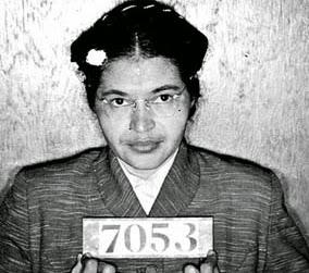 Rosa Parks Booking Photo Montgomery Bus Boycott