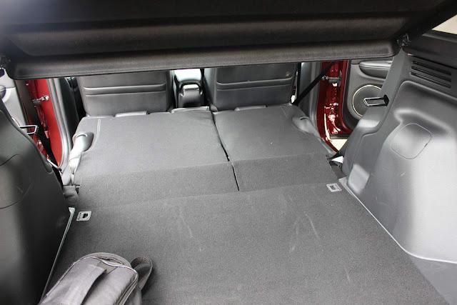 Honda HR-V EXL 2019 - interior - porta-malas