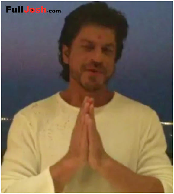 Shahrukh Khan Special Poem For Indian Troops On Diwali