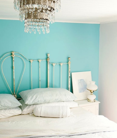 Robins Egg Blue Accent Wall Bedroom 2018: Life Is Sweet: Picking Paint Colors: Robin's Egg Blue