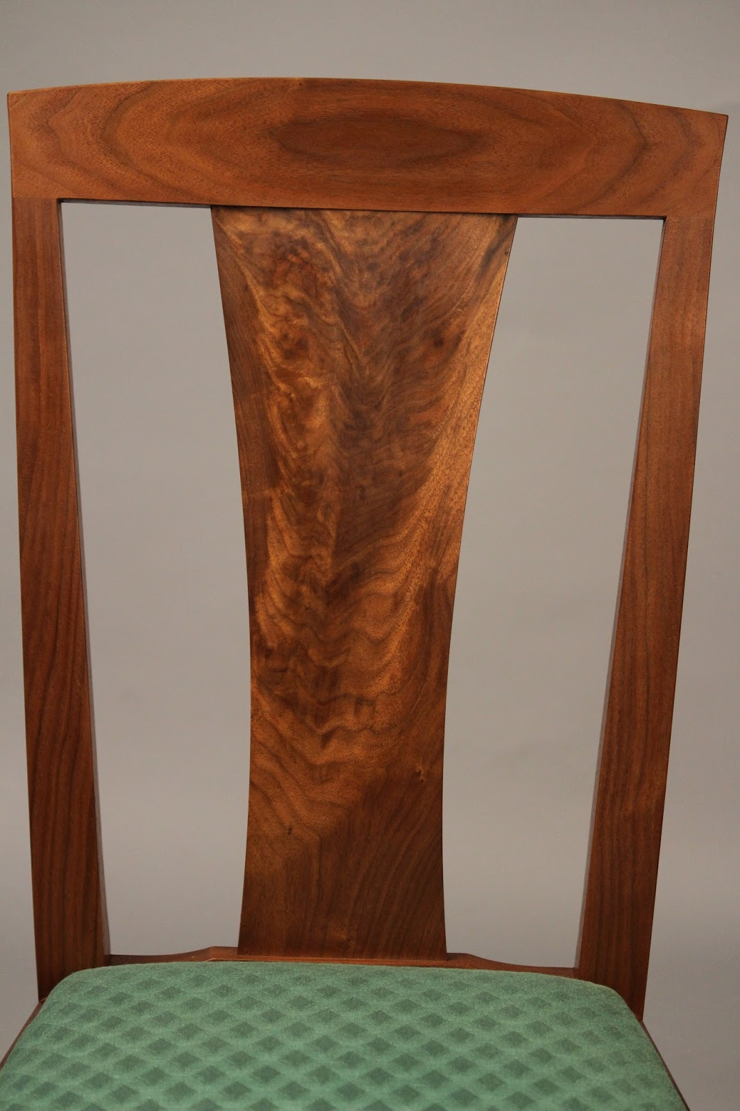 walnut crotch back splat
