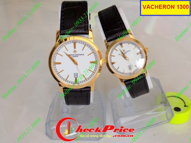 Đồng hồ dây da Vacheron 1300