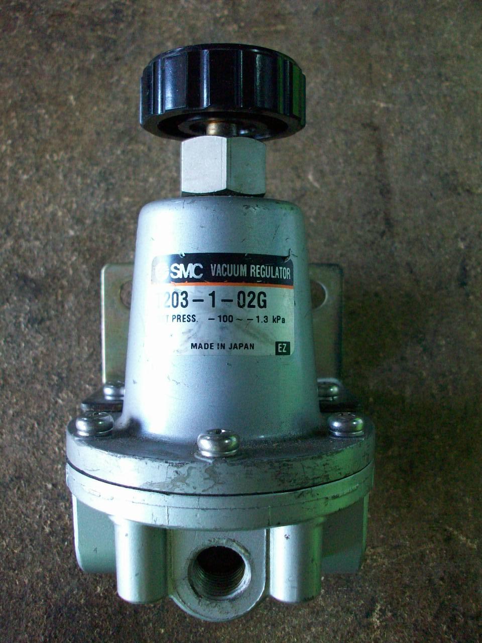僑大機械五金行: SMC T203-1-02G 精密真空調壓閥