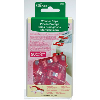 Clover Wonder Clips | 2017 Ultimate Holiday Stocking Stuffers Guide for Quilters | Shannon Fraser Designs | Sewing Notions & Tools | Quilting | Quilt Essentials | Chritmas Stocking Stuffers