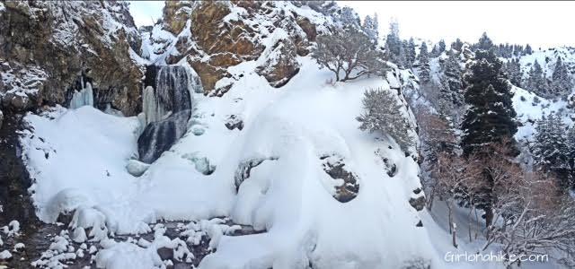 Adam's Canyon Waterfall, Hiking in Utah with Dogs, Adam's Canyon, Utah waterfall hikes