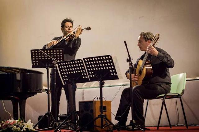Ρεσιτάλ για βιολί και κιθάρα με τους Γ. Κεραμίδη και Κ. Χίζαρη