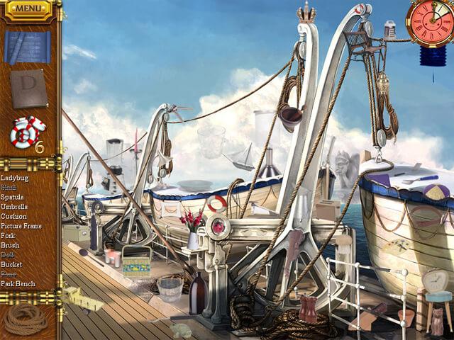لعبة سفينة تيتانيك