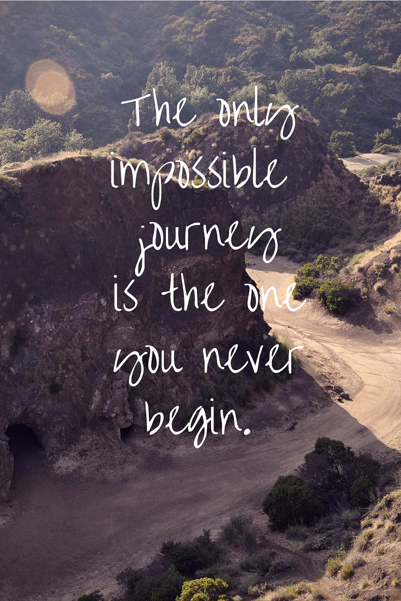 Quote about Journey