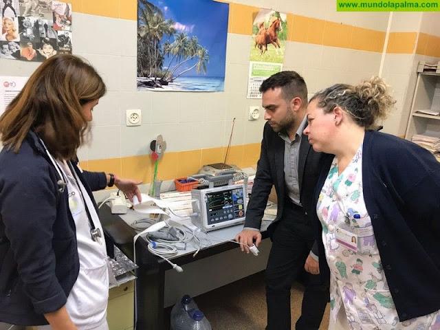 Equipamiento de los centros de salud y el Hospital General de La Palma