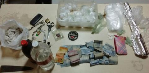 Polícias Civil e Militar desmontam ponto de produção e comércio de drogas em Vigia-de-Nazaré
