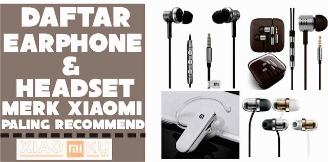 daftar earphone-headset merk xiaomi terbaik