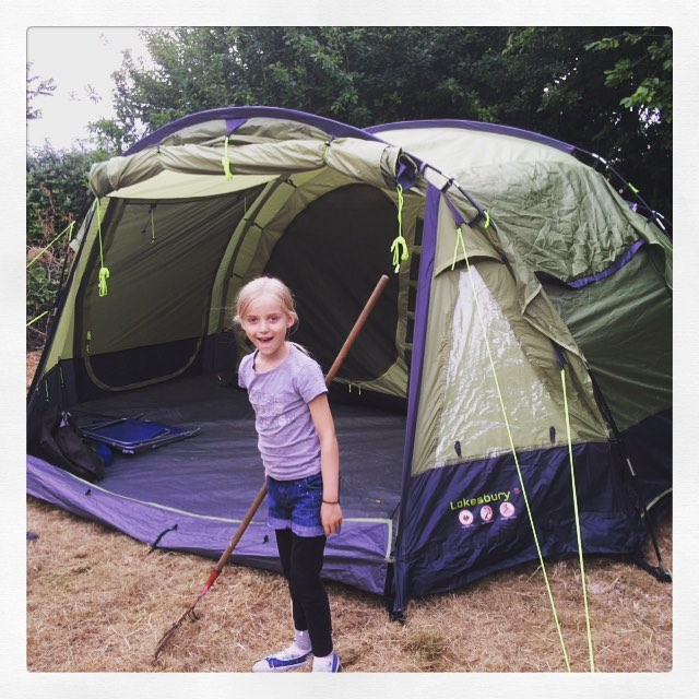 Camping in the Forest Ashurst, New Forest