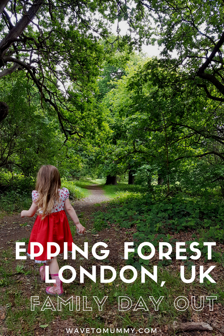 Epping Forest, London, UK - family day out ideas. Our first family trip to Epping Forest. Lots of pictures of what it looks like, and ideas where to go to with a family.