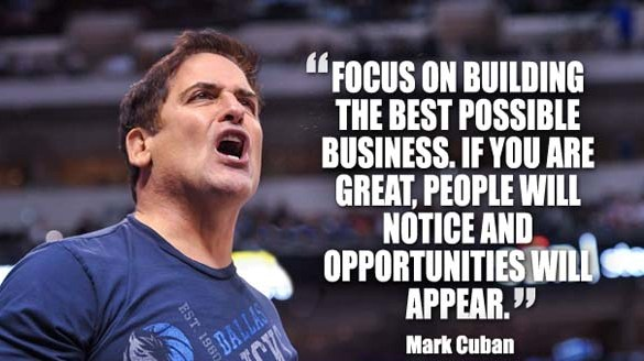 Mark Cuban Business Quoutes characteristics savvy startup survival lean frugal entrepreneur tips success desygner small business tools
