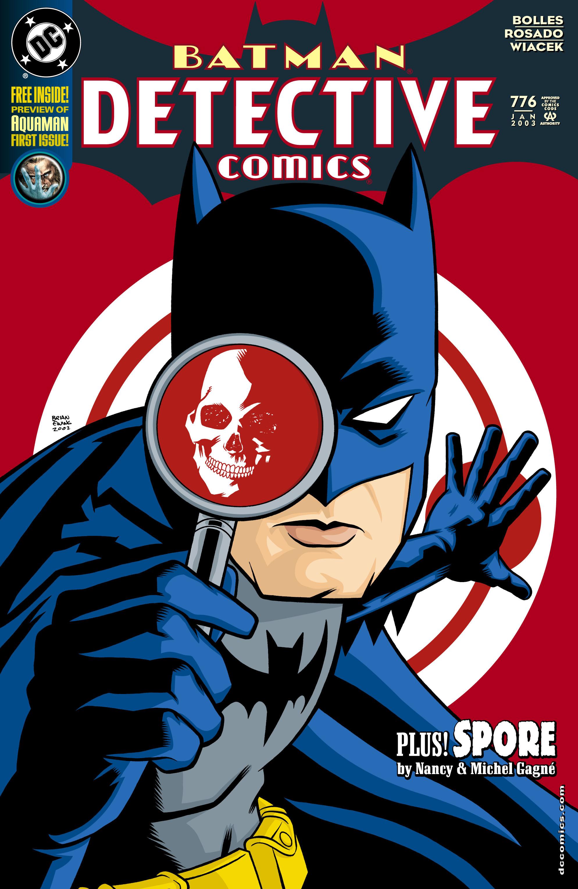 Detective Comics (1937) 776 Page 1
