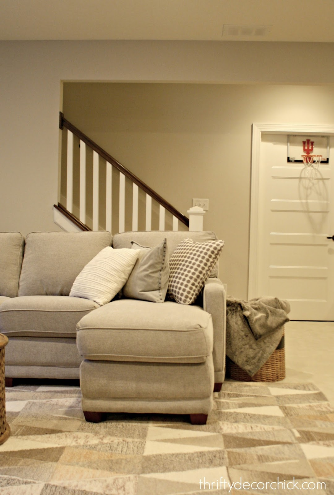 Our coziest room in the house! from Thrifty Decor Chick