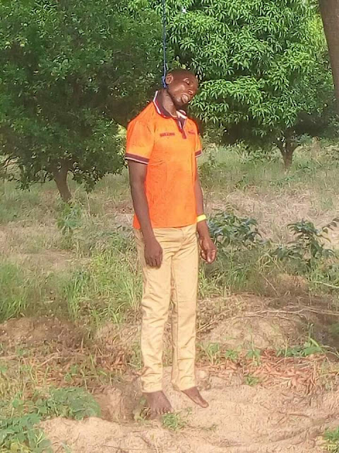 Photos: Man commits suicide in Benue State