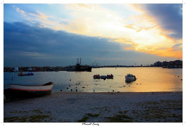 Yesilkoy Seaside, Istanbul, Sunset