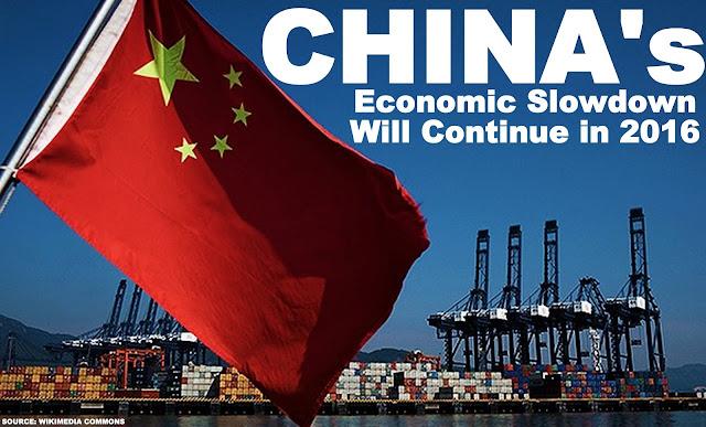 B&E | China's Economic Slowdown Will Continue in 2016