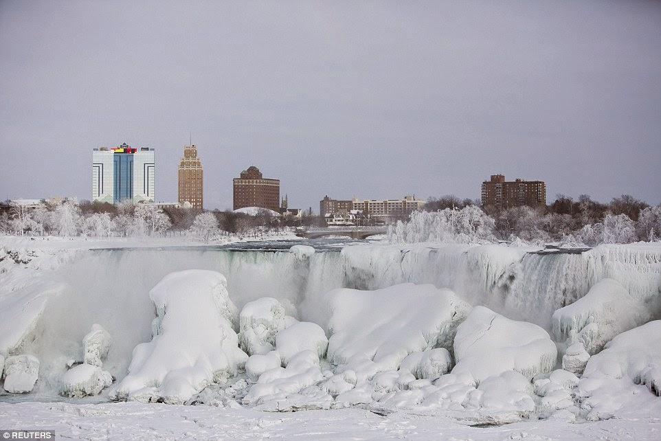 Niagara Falls Frozen in 2015