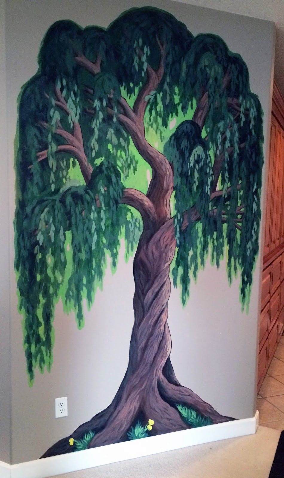 The Talking Walls Family TreeWillow Style