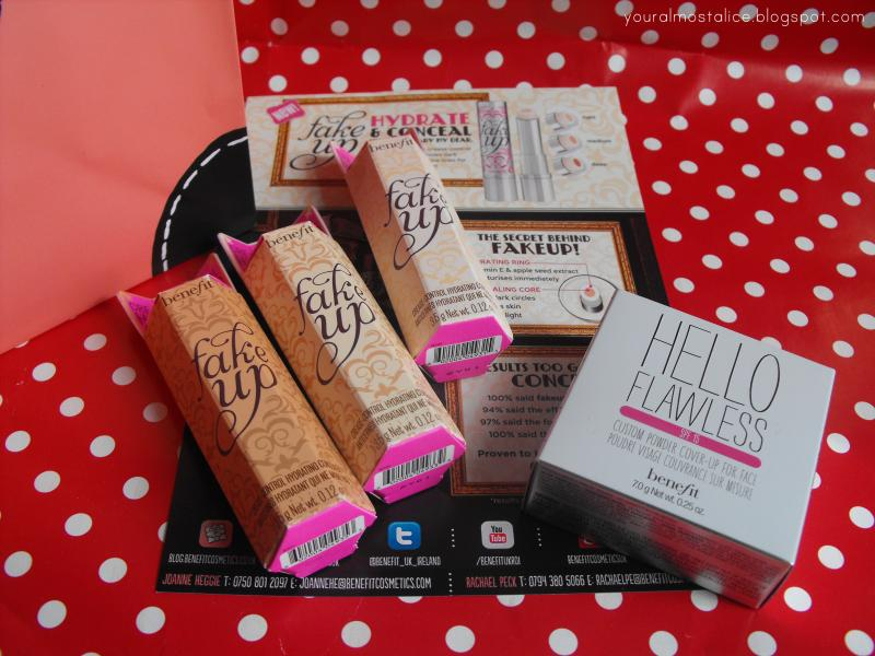 Benefit 'Fake Up' Event