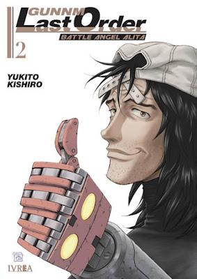 """Reseña de """"Gunnm Last Order"""" vol. 2 de Yukito Kishiro - Ivréa"""