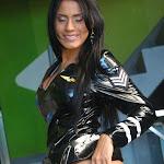 Andrea Rincon, Selena Spice Galeria 5 : Vestido De Latex Negro Foto 148