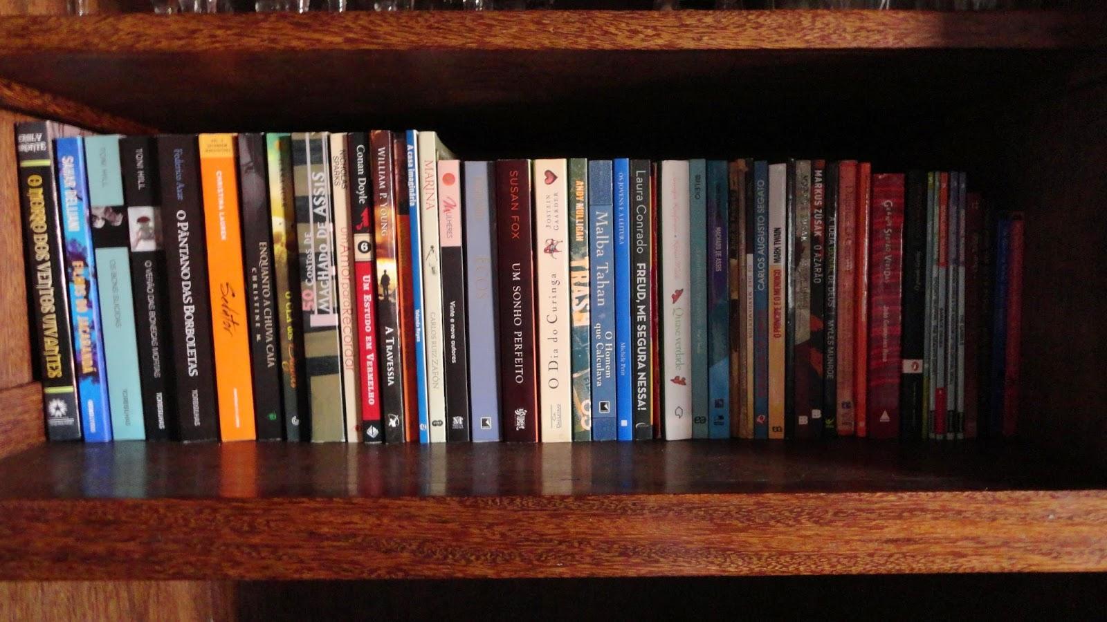 aeb726a9c UNIVERSO DOS LEITORES: Livros que tenho e ainda não li