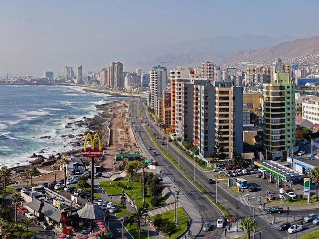 City of Antofagasta, North of Chile.