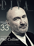 EXCLUSIVO! Phil Collins en Edición Nº 33 de DIVA Latinoamérica