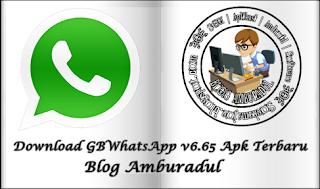 Download GBWhatsApp v6.65 Apk Terbaru