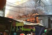 Kebakaran Melanda Kawasan Krendang, Berikut Foto-foto Kebakaran