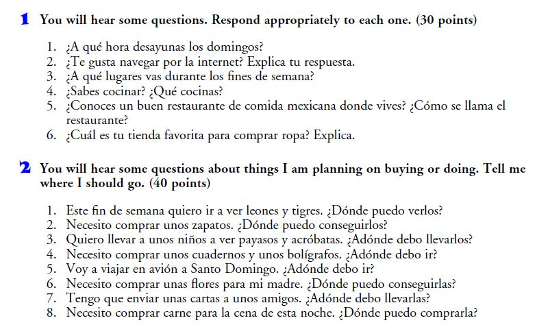 Realidades 2 Chapter 4A vocab quiz and    | Curt's Class