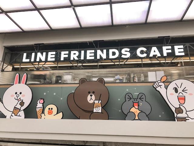 Merasa Sayang Dengan Makanan yang Ada di Line Friends Cafe